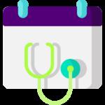calendario de citas médicas